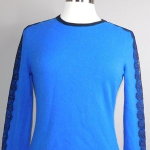 Neiman Marcus Cashmere Collection Long-Sleeve Crew